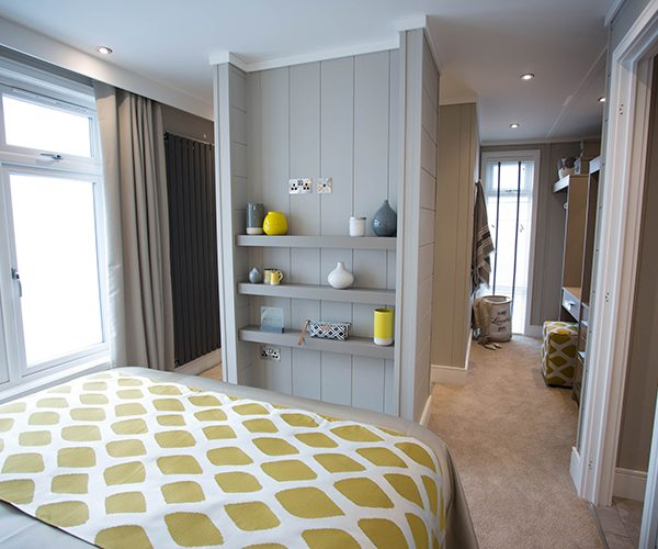 silver-bay-holiday-village-luxury-lodges-anglesey-vista-dressing-room-bedroom